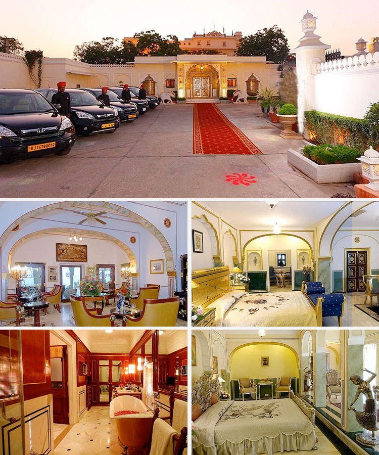 Typical Heritage Hotel Jaipur
