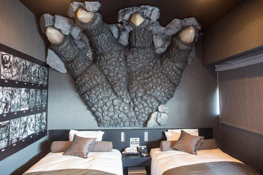 cool and quirky hotels Tokyo