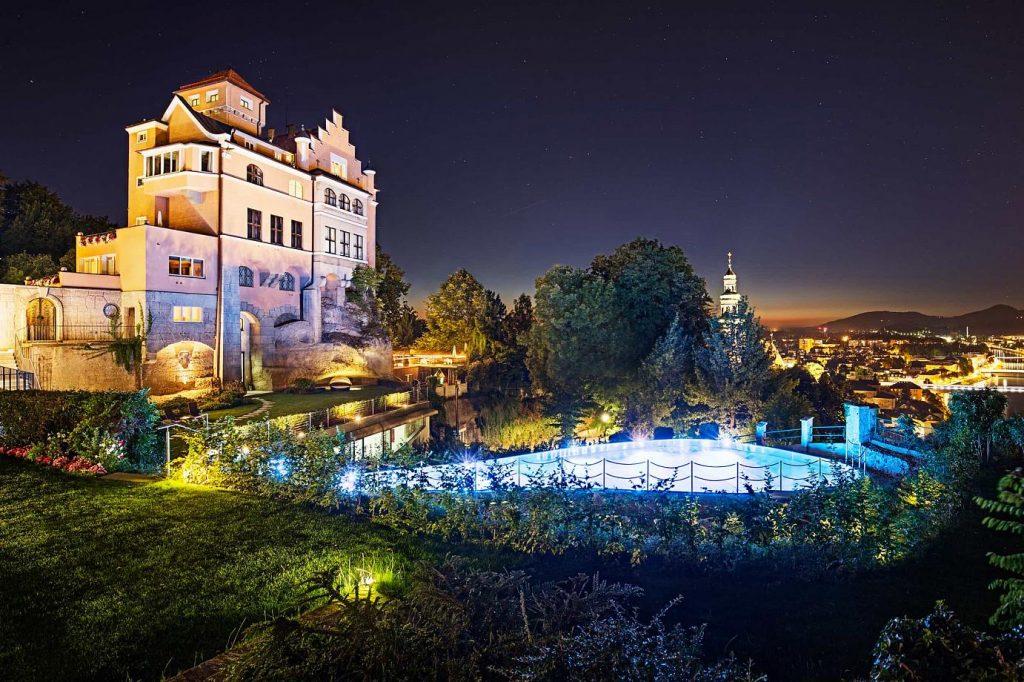 elegant castle hotels in Austria
