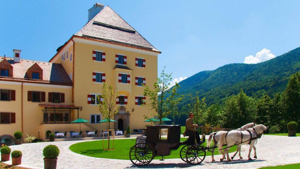 Castle hotels in Austria
