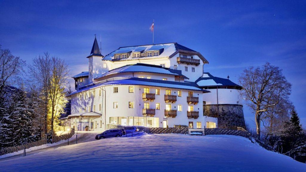 Extravagant castle hotels